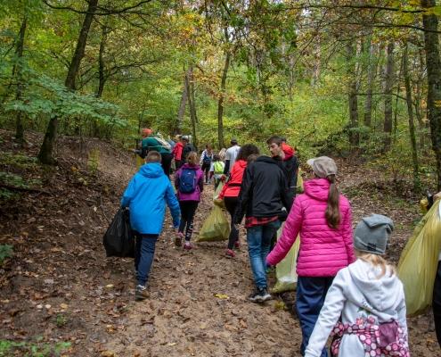 Human Waste Zone Puszcza Wkrzańska październik 2019