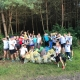 Puszcza Wkrzańska zbieranie śmieci