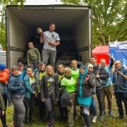 human waste zone zero waste zbieranie śmieci sprzątanie lasu
