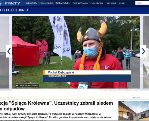 human waste zone w tvn24