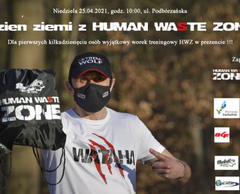 Dzień Ziemi z Human Waste Zone, darmowy plecak gratis za darmo, sprzątanie lasu