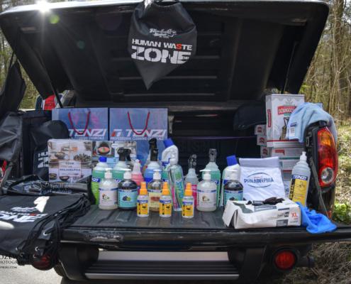 Human Waste Zone, prezenty dla zbieraczy śmieci